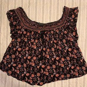 Floral hippy shirt